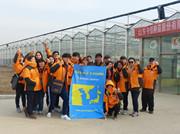 韩中日农业新思路考察团参观安信番茄苗基地