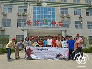 马来西亚参访团参观安信西瓜苗基地